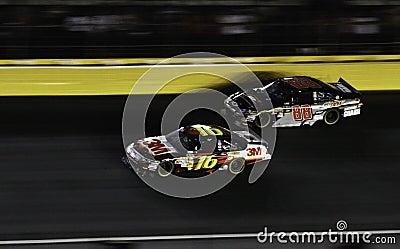 NASCAR - All Stars Biffle, Earnhardt Jr Editorial Image