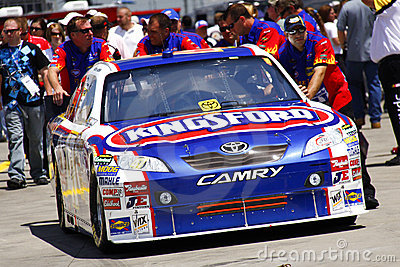 NASCAR - Ambrose s Car Headed to Inspection Editorial Image