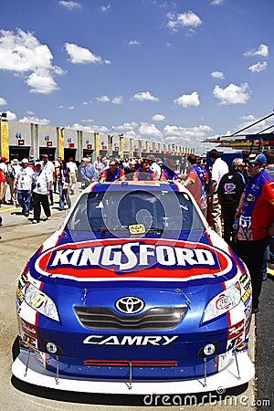 NASCAR - Ambrose s Kingsford Car Editorial Stock Image