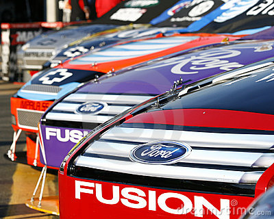 NASCAR - American Muscle Cars Editorial Stock Image