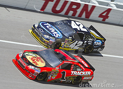 NASCAR:  Apr 25 Aaron s 499 Editorial Image
