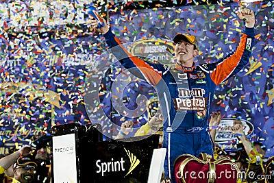 NASCAR:  Apr 30 Kyle Busch (18) Editorial Photography