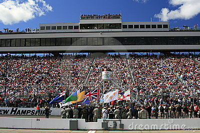 NASCAR and the Armed Services  Editorial Image