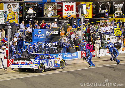 NASCAR:  Aug 20 Food City 250 Editorial Stock Image