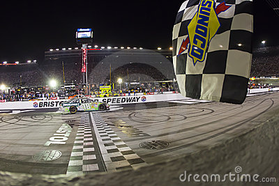 NASCAR:  Aug 21 Irwin Tools Night Race Editorial Image
