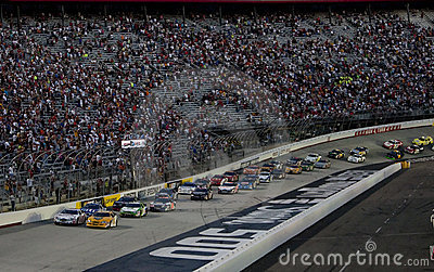 NASCAR:  August 21 Food City 250 Editorial Stock Photo