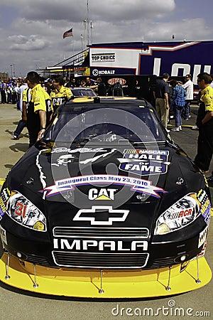 NASCAR - Burton s Hall of Fame Car Editorial Stock Image