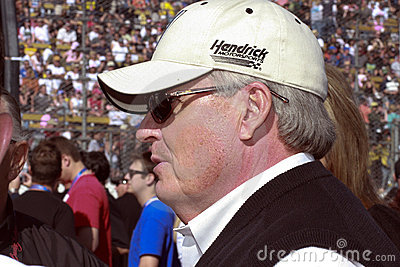 NASCAR car owner Rick Hendrick Editorial Image