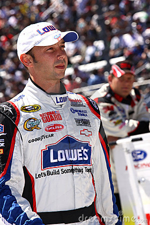 NASCAR - Chad Knaus, #48 Lowes Crew Chief Editorial Image