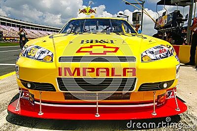 NASCAR - Cheerios BB&T Sponsorship Editorial Image