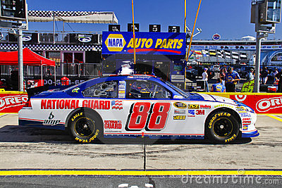 NASCAR - Dale Jr s #88 National Guard Chevy Editorial Stock Photo
