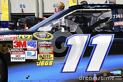 NASCAR - Denny Hamlin s #11 at the 600 Editorial Stock Image