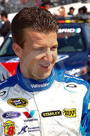 NASCAR Driver A.J. Allmendinger Pit Road Editorial Photo