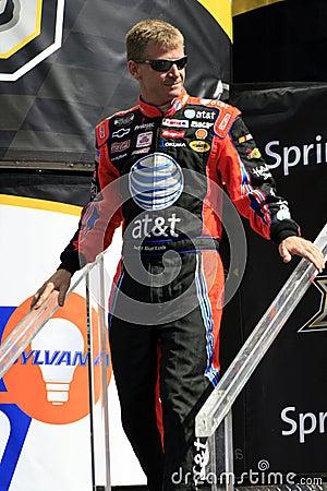 NASCAR Driver Jeff Burton in N Editorial Image