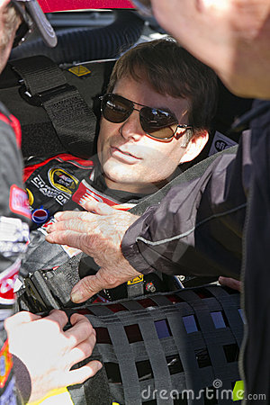 NASCAR driver Jeff Gordon Editorial Photography