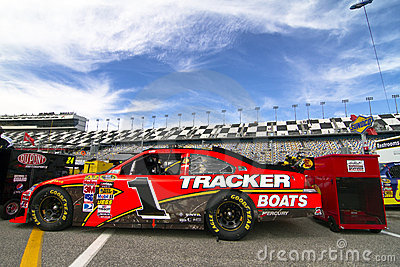 NASCAR:  February 11 Gatorade Duel 1 Editorial Stock Image
