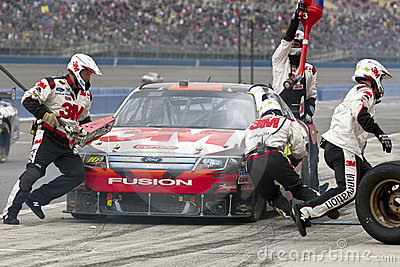 NASCAR:  February 21 Auto Club 500 Editorial Stock Photo