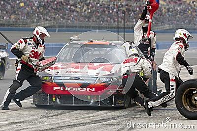 NASCAR:  February 21 Auto Club 500 Editorial Stock Photo