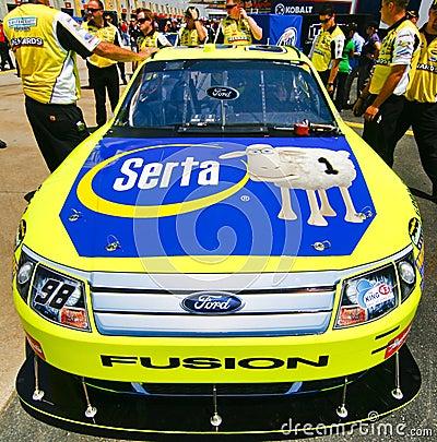 NASCAR - Front Hood Sponsorship Editorial Photography