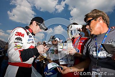 NASCAR:  Greg Biffle Aug 14 Carfax 400 Editorial Photo
