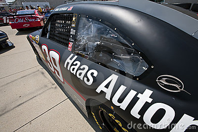 NASCAR:  Haas Racing Allstate 400 at the Brickyard Editorial Stock Photo