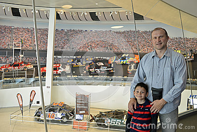 NASCAR hall of fame museum Editorial Stock Photo
