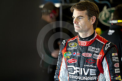 NASCAR: Jeff Gordon Editorial Photo