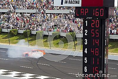 NASCAR: Joey Logano Editorial Stock Image