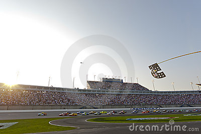 NASCAR:  Jul 09 Quaker State 400 Editorial Stock Photo