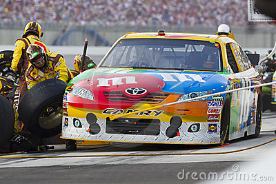NASCAR:  Jul 09 Quaker State 400 Editorial Photo