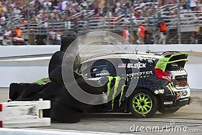 NASCAR:  Jul 14 Global Rallycross Championship Editorial Photo