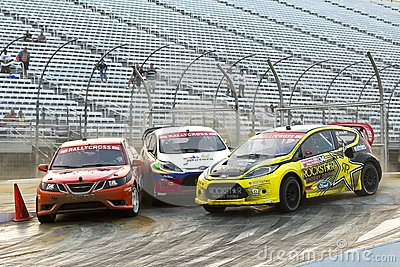 NASCAR:  Jul 14 Global Rallycross Championship Editorial Image