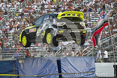 NASCAR:  Jul 14 Global Rallycross Championship Editorial Image