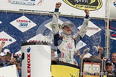 NASCAR:  Jul 15 Kasey Kahne Victory Lane Editorial Stock Image