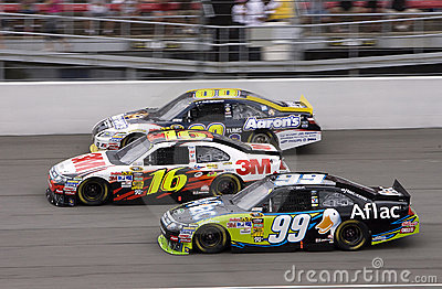 NASCAR:  June 13 Heluva Good! Sour Cream Dips 400 Editorial Stock Image