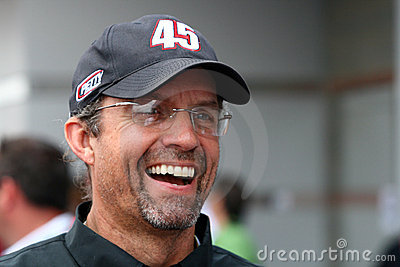 NASCAR - Kyle Petty at LMS Editorial Photography