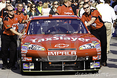 NASCAR - Labonte s #71 All Star Chevy Editorial Stock Image