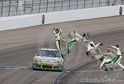 NASCAR:  Mar 06 Kobalt Tools 400 Editorial Photography