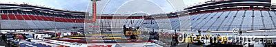 NASCAR:  Mar 18 Jeff Byrd 500 Editorial Stock Image