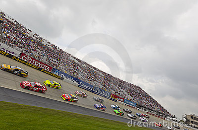 NASCAR:  May 15 FedEx 400 benefiting Autism Speaks Editorial Stock Photo