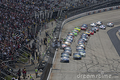 NASCAR:  May 15 FedEx 400 benefiting Autism Speaks Editorial Stock Image