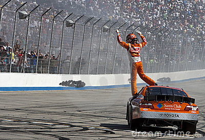 NASCAR:  May 15 HELLUVA GOOD! 200 Editorial Image