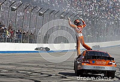 NASCAR:  May 15 HELLUVA GOOD! 200 Editorial Image