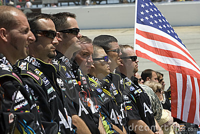 NASCAR:  May 16 Autism Speaks 400 Editorial Stock Photo