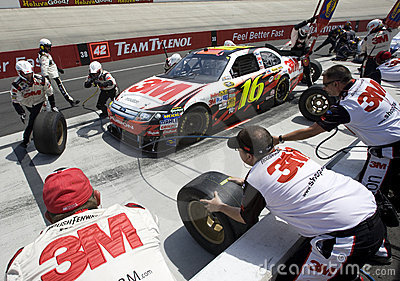 NASCAR:  May 16 Autism Speaks 400 Editorial Photography