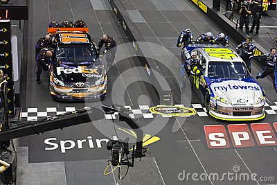 NASCAR:  May 17 Pit Crew Challenge Editorial Stock Photo