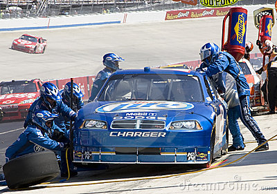 NASCAR:  May 31 Autism Speaks 400 Editorial Stock Photo