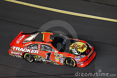 NASCAR - McMurray at Charlotte Motor Speedway Editorial Photography