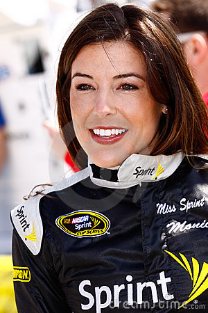 NASCAR - Miss Sprint Cup Monica Palumbo Editorial Photography