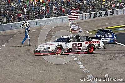NASCAR:  Nov 06 O Reilly Auto Parts Challenge Editorial Stock Photo